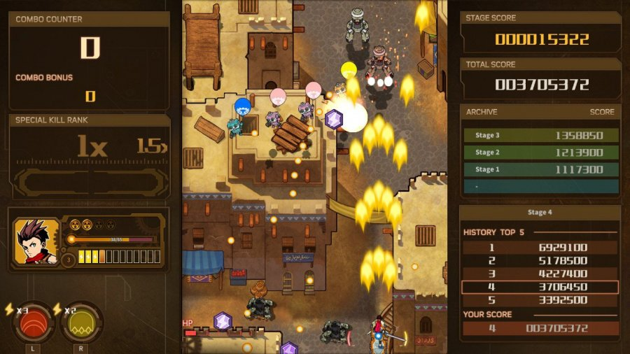 AngerForce: Reloaded Review - Screenshot 1 of 6