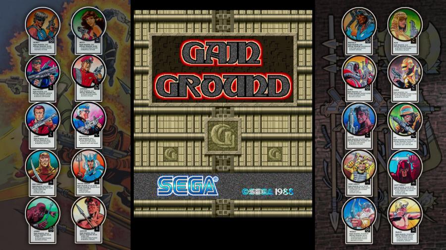 SEGA AGES Gain Ground Review - Screenshot 5 of 6