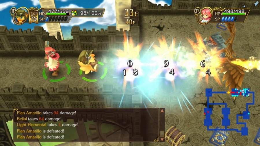 Chocobo's Mystery Dungeon Every Buddy! Review - Screenshot 1 of 6