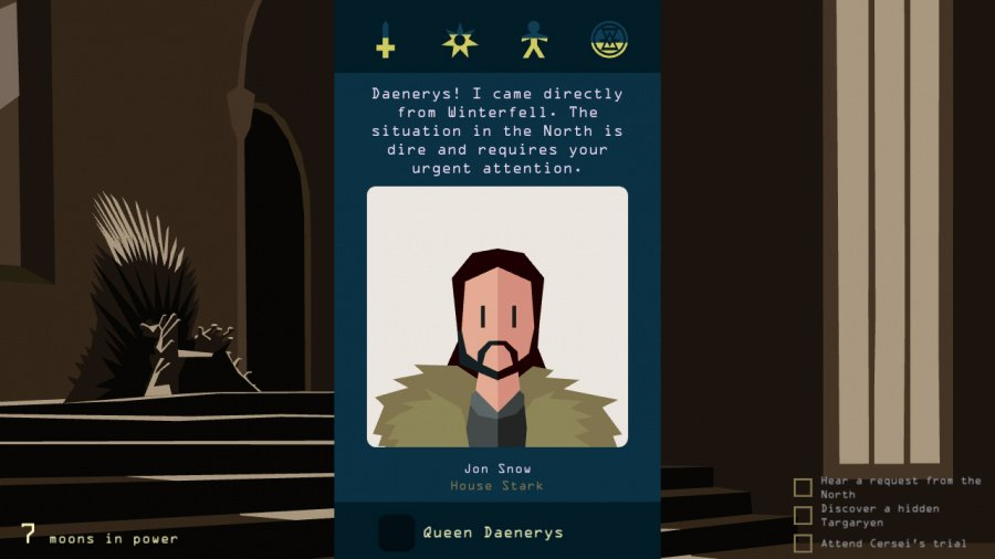 Reigns: Game of Thrones Review - Screenshot 1 of 4