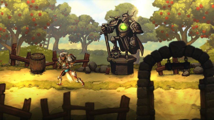 SteamWorld Quest: Hand of Gilgamech Review - Screenshot 1 of 5