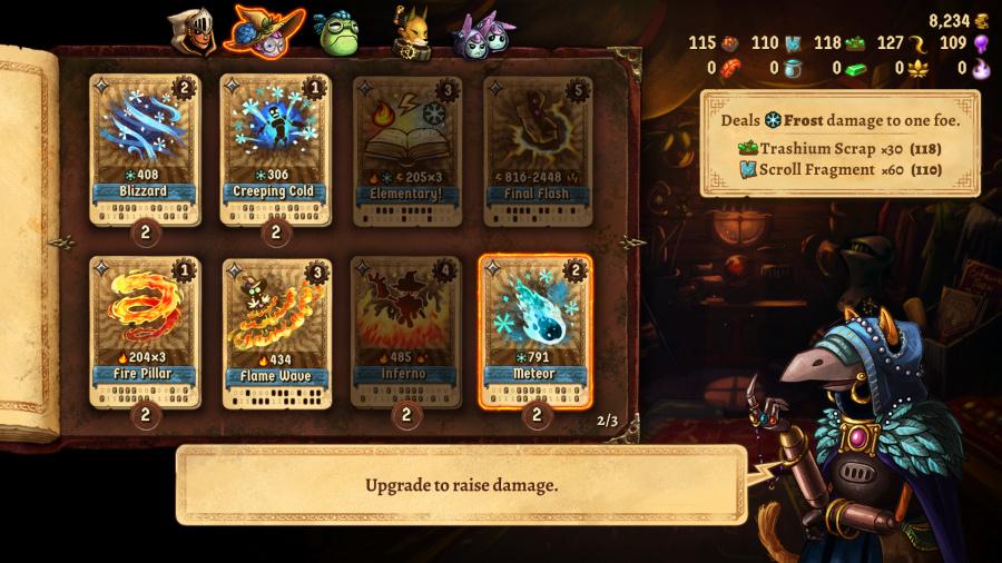 SteamWorld Quest: Hand of Gilgamech Review - Screenshot 4 of 5