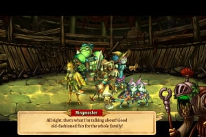 SteamWorld Quest: Hand of Gilgamech Screenshot