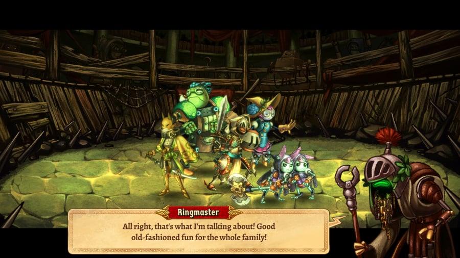 SteamWorld Quest: Hand of Gilgamech Review - Screenshot 1 of 5