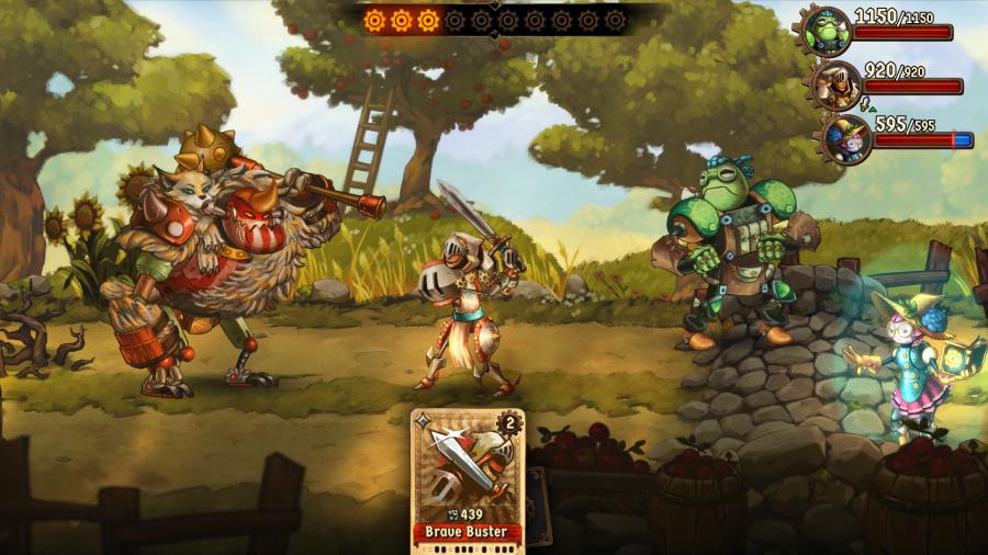 SteamWorld Quest: Hand of Gilgamech Review - Screenshot 3 of 5