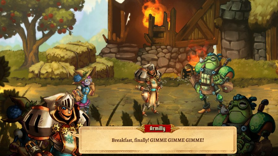 SteamWorld Quest: Hand of Gilgamech Review - Screenshot 2 of 5