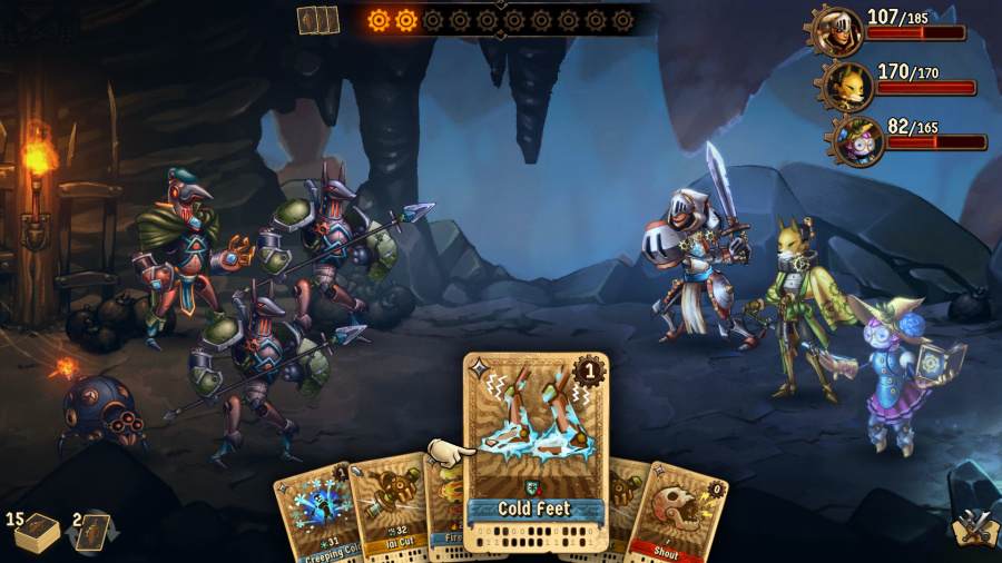 SteamWorld Quest: Hand of Gilgamech Review - Screenshot 4 of 5