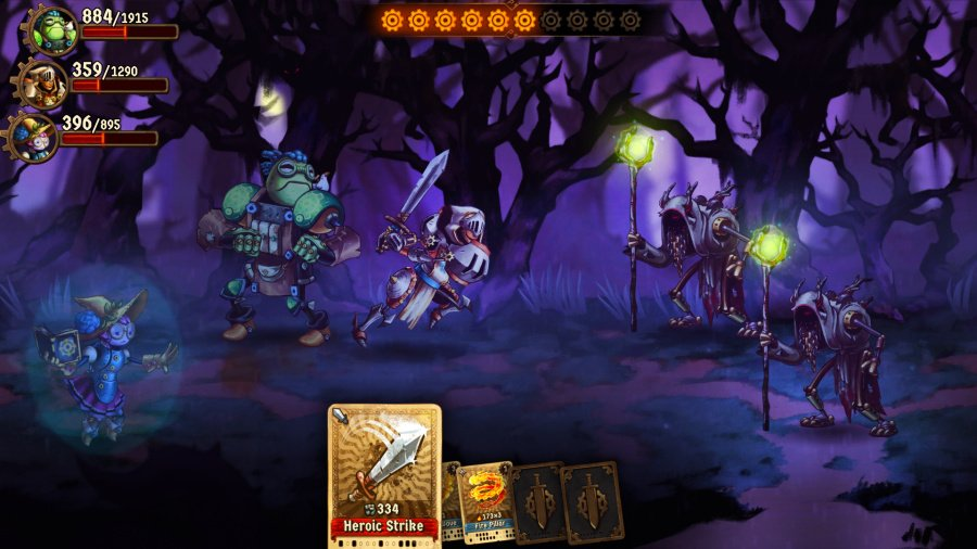 SteamWorld Quest: Hand of Gilgamech Review - Screenshot 5 of 5