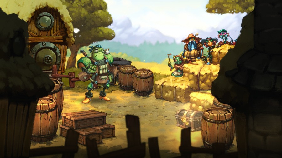 SteamWorld Quest: Hand of Gilgamech Review - Screenshot 3 of 5
