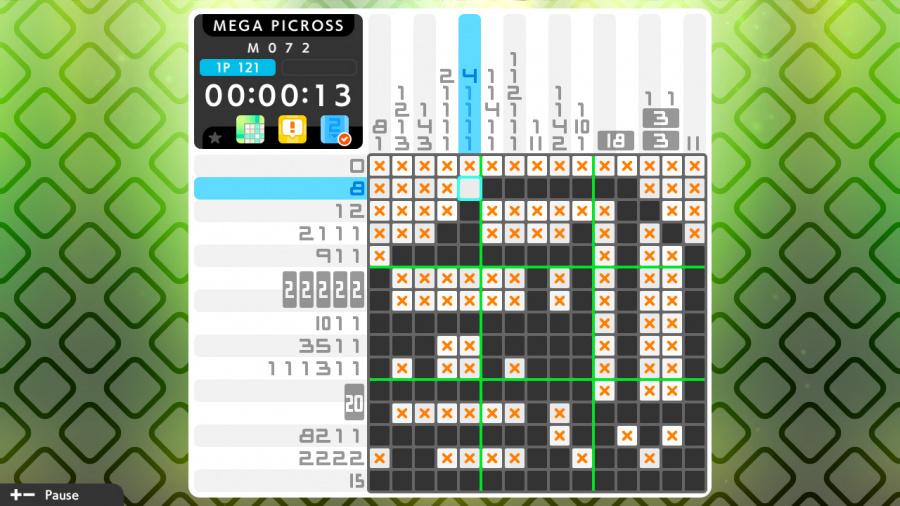 Picross S3 Review - Screenshot 3 of 5