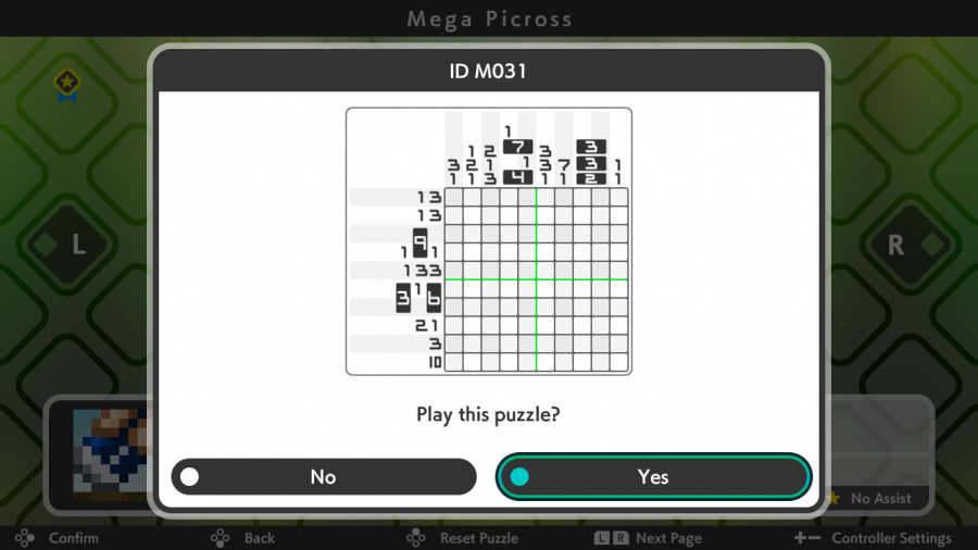 Picross S3 Review - Screenshot 2 of 5