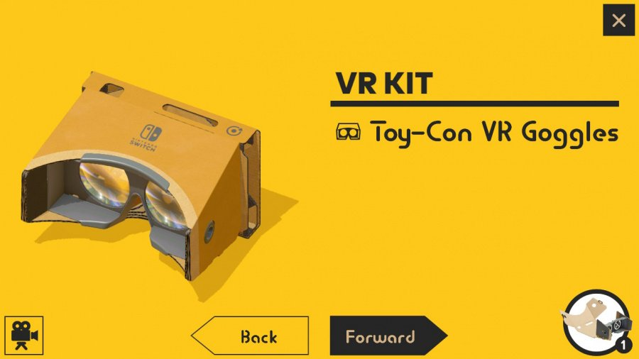 Nintendo Labo Toy-Con 04: VR Kit Review - Screenshot 3 of 11