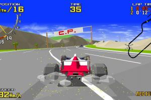 SEGA AGES Virtua Racing Screenshot