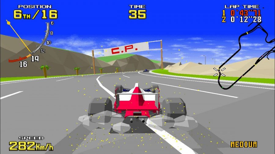 SEGA AGES Virtua Racing Review - Screenshot 2 of 6