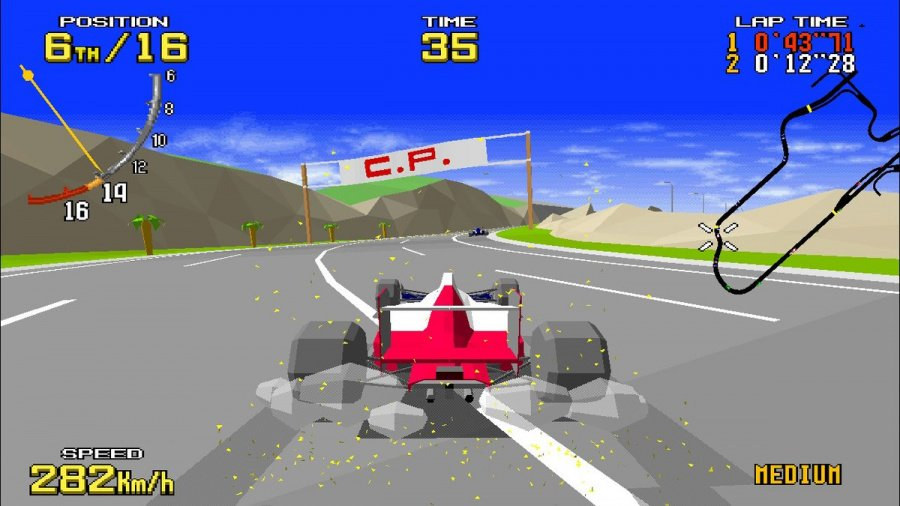 SEGA AGES Virtua Racing Review - Screenshot 1 of 6