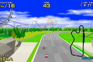 SEGA AGES Virtua Racing Screenshot