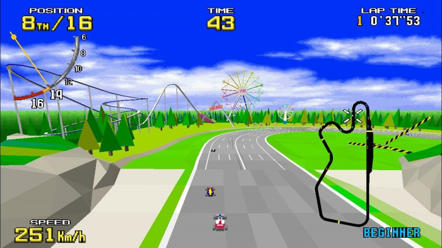 SEGA AGES Virtua Racing Review - Screenshot 4 of 6