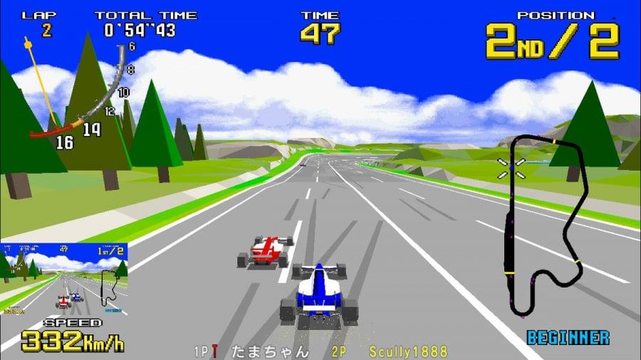 SEGA AGES Virtua Racing Review - Screenshot 1 of 5