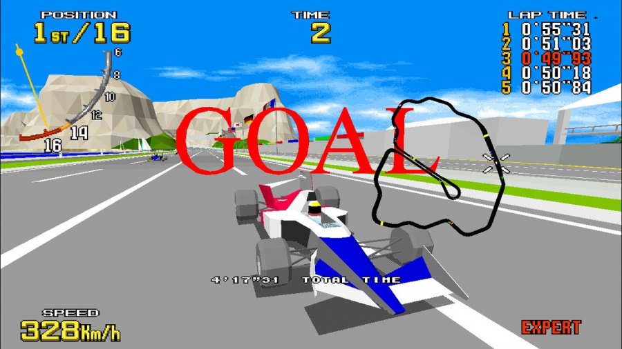 SEGA AGES Virtua Racing Review - Screenshot 5 of 6