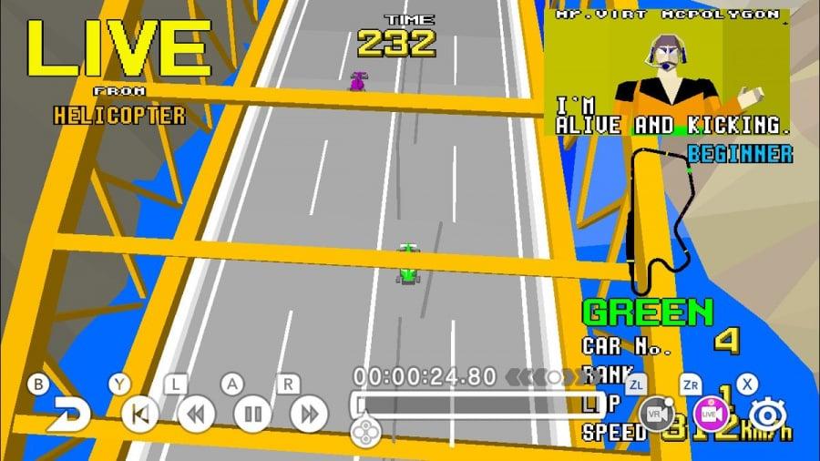 SEGA AGES Virtua Racing Review - Screenshot 1 of 6