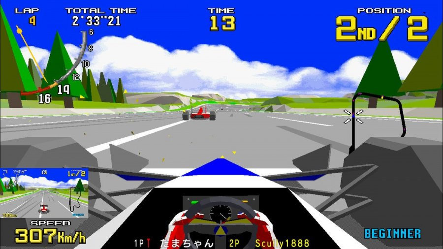 SEGA AGES Virtua Racing Review - Screenshot 3 of 6