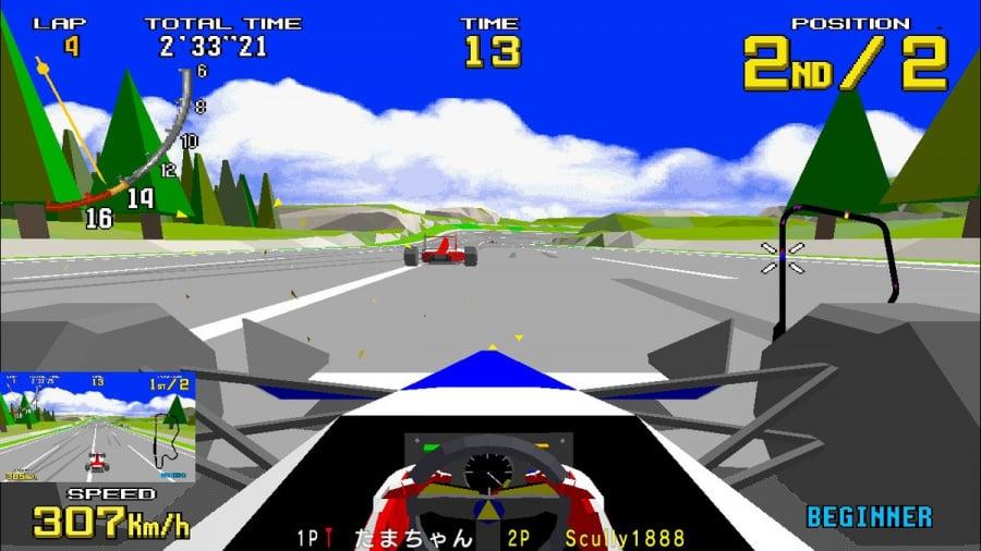 SEGA AGES Virtua Racing Review - Screenshot 5 of 6