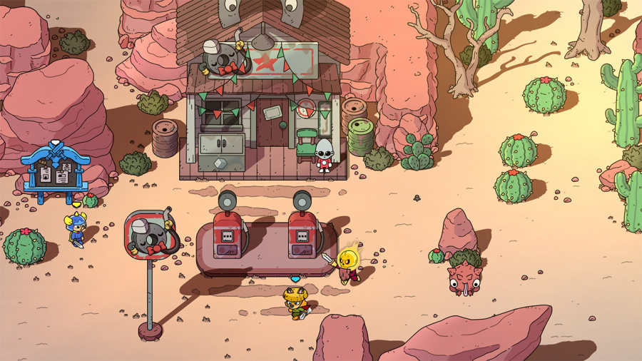 The Swords of Ditto: Mormo's Curse Review - Screenshot 4 of 5
