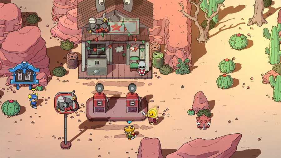 The Swords of Ditto: Mormo's Curse Review - Screenshot 1 of 6
