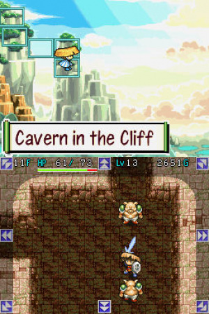 Mystery Dungeon: Shiren the Wanderer Review - Screenshot 2 of 3