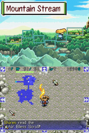 Mystery Dungeon: Shiren the Wanderer Review - Screenshot 2 of 3