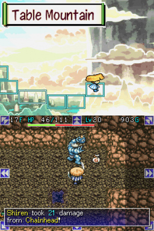 Mystery Dungeon: Shiren the Wanderer Review - Screenshot 3 of 3
