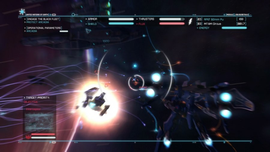 Strike Suit Zero: Director's Cut Review - Screenshot 1 of 5