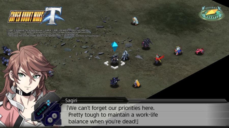 Super Robot Wars T Review - Screenshot 3 of 9