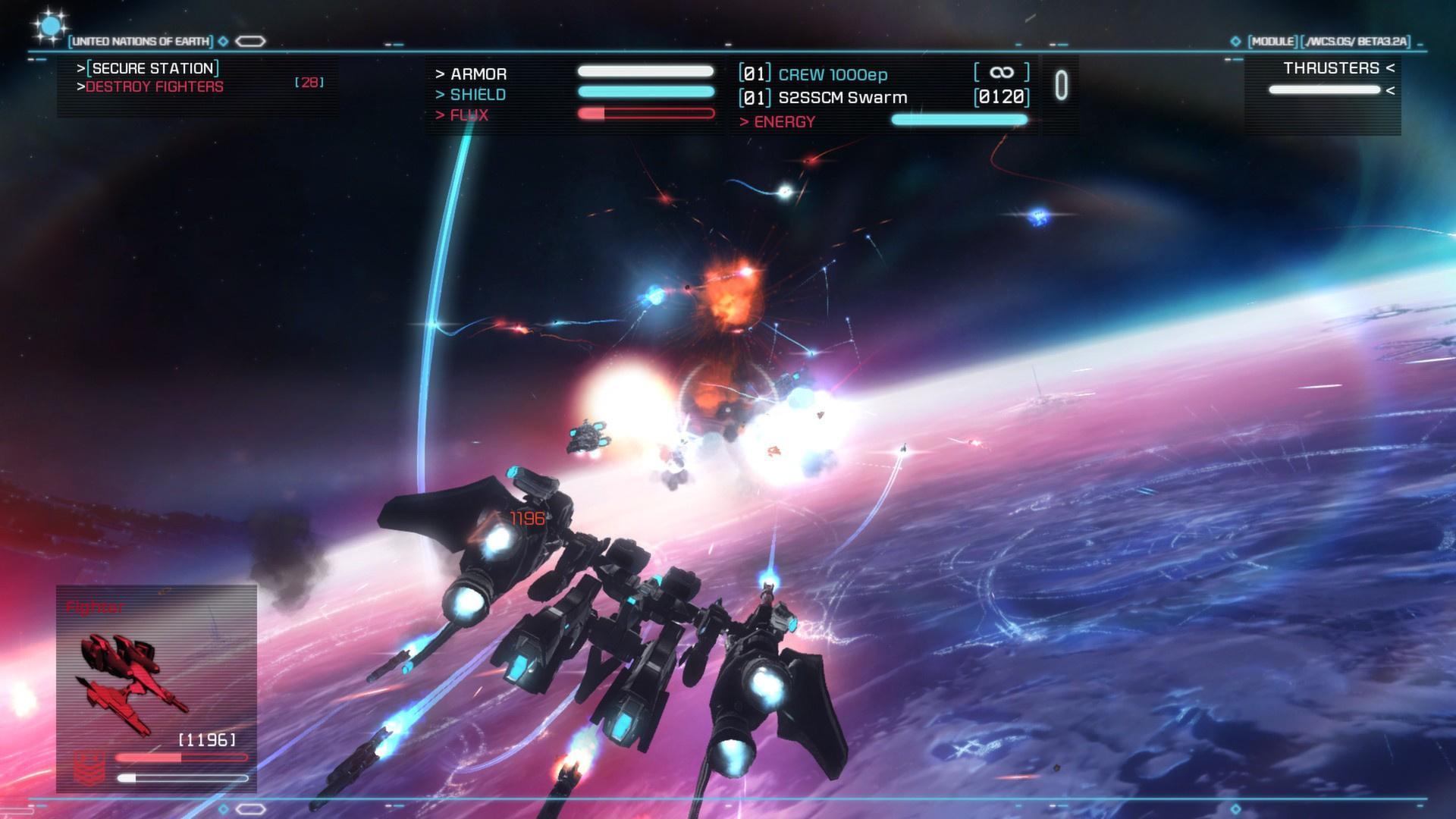 Strike Suit Zero: Director's Cut Review (Switch eShop