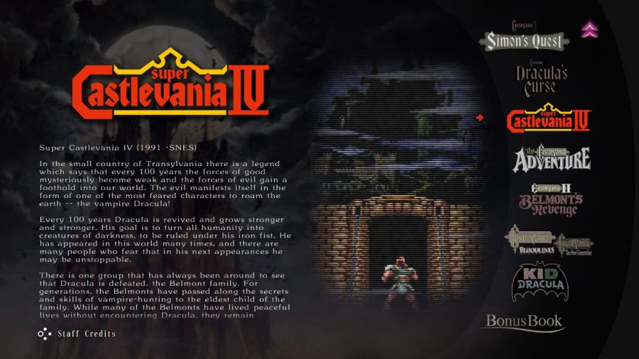 Castlevania Anniversary Collection Review - Screenshot 2 of 6