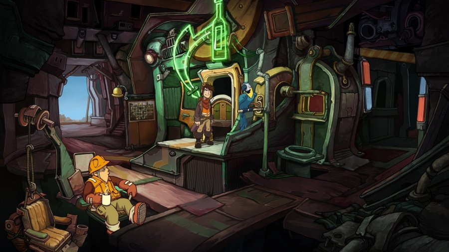 Deponia Review - Screenshot 1 of 3