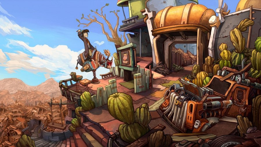 Deponia Review - Screenshot 3 of 3