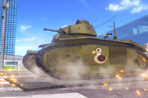 Girls Und Panzer: Dream Tank Match DX Screenshot