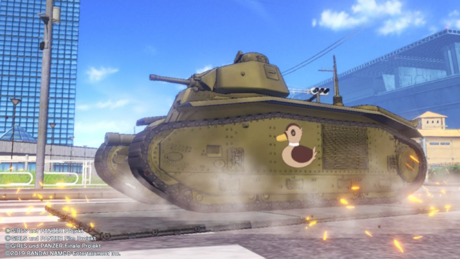 Girls Und Panzer: Dream Tank Match DX Review - Screenshot 3 of 7