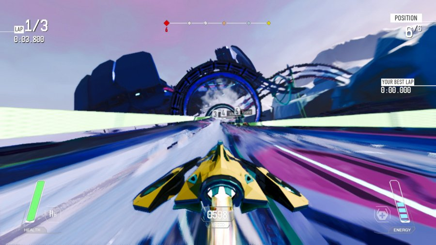 Redout Review - Screenshot 2 of 6