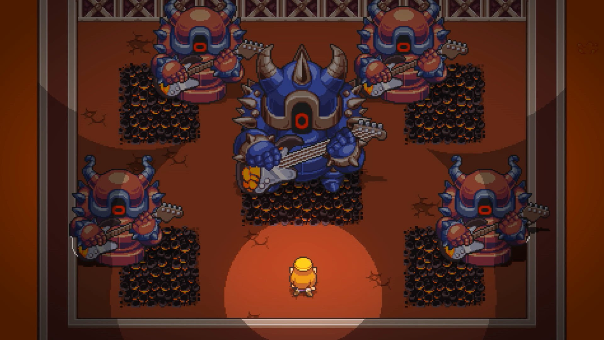 Cadence of Hyrule: the crypt of NecroDancer Featuring the