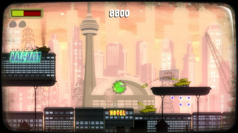 Tales From Space: Mutant Blobs Attack Review - Screenshot 2 of 4