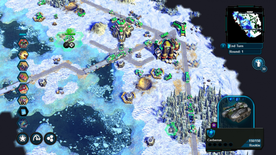 Battle Worlds: Kronos Review - Screenshot 1 of 5