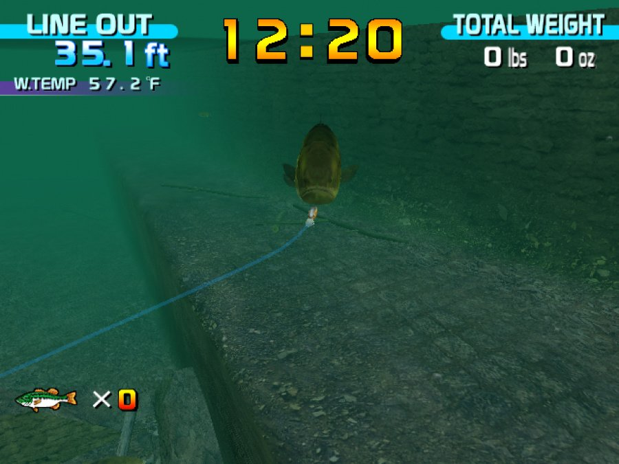 SEGA Bass Fishing Review - Screenshot 1 of 3