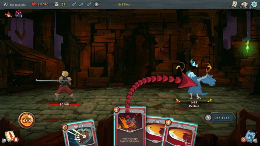 Slay the Spire Review - Screenshot 1 of 4