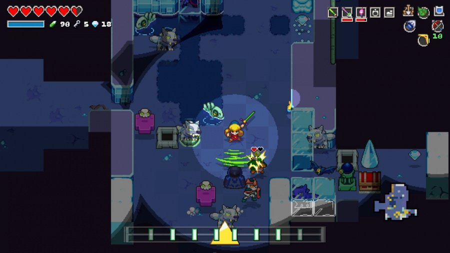 Cadence of Hyrule: Crypt of the NecroDancer Featuring The Legend of Zelda Review - Screenshot 1 of 7