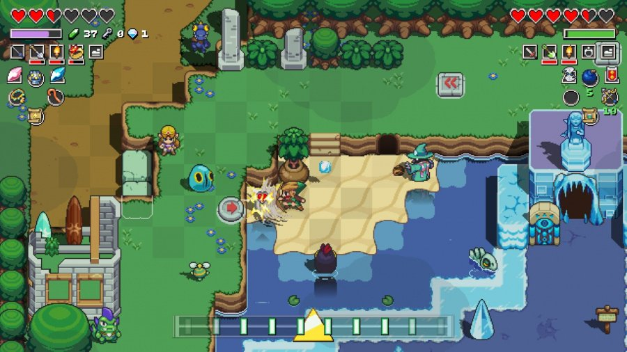 Cadence of Hyrule: Crypt of the NecroDancer Featuring The Legend of Zelda Review - Screenshot 4 of 7