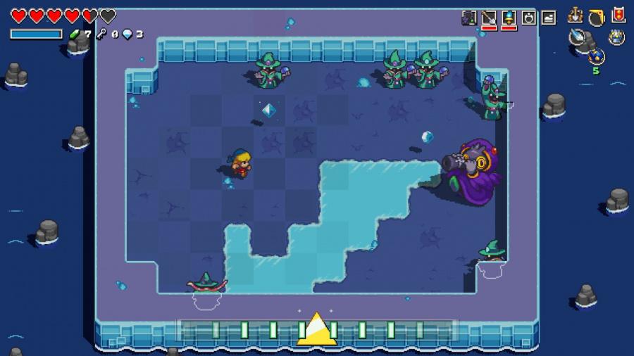 Hyrule کی کیڈنس: نیدرروئنانس کی کرپٹ Zelda جائزہ کی علامات کی خاصیت - 7 کی سکرین شاٹ 5