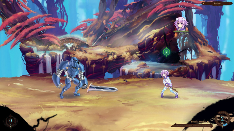 Super Neptunia RPG Review - Screenshot 2 of 4
