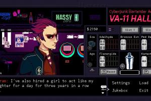 VA-11 HALL-A: Cyberpunk Bartender Action Screenshot
